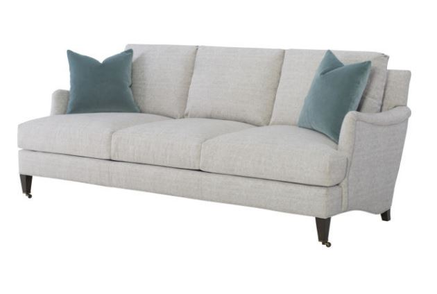 Traditional silhouette sofa