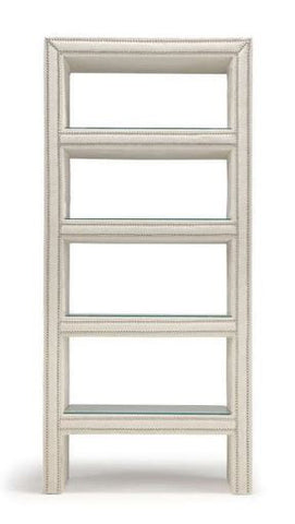 Upholstered Bookcase - Hamptons Furniture, Gifts, Modern & Traditional