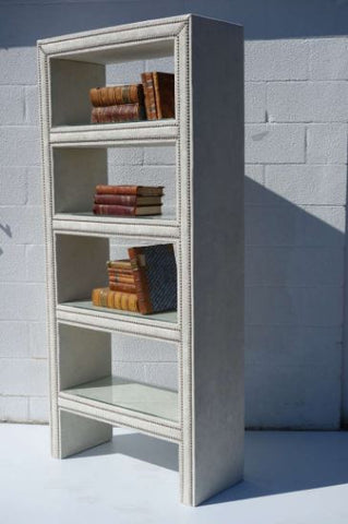 Upholstered Bookcase