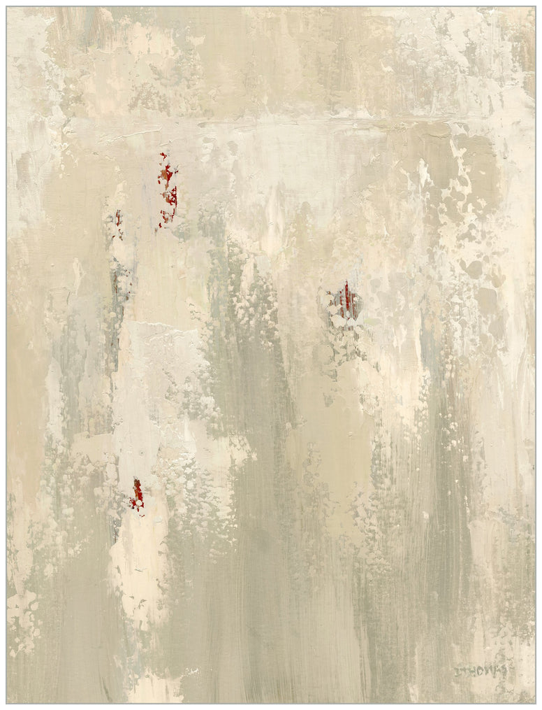 Abstract Beige Canvas Prints