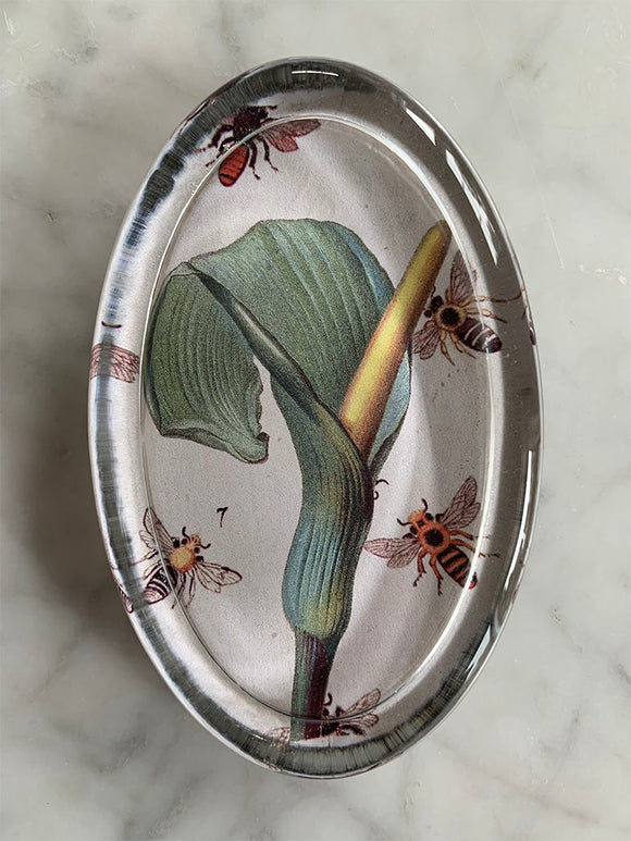 Maison Yiliy paperweight Lily and Bees