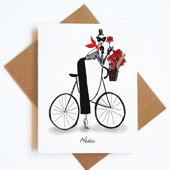 Card Merci Bike