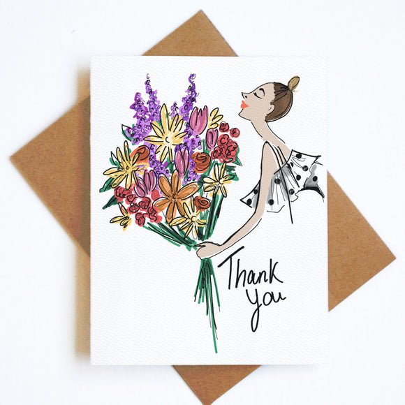 Card Thank You Bouquet