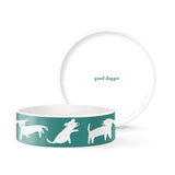 Petshop - White Dogs Pet Bowl (Small)