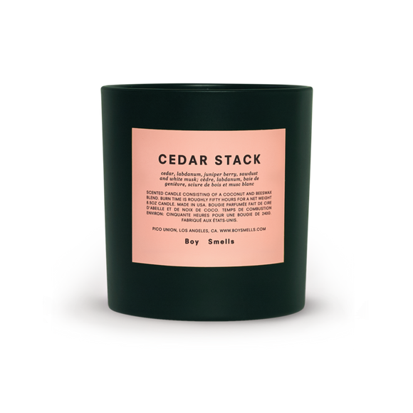 Boy Smells - Bougie - CEDAR STACK