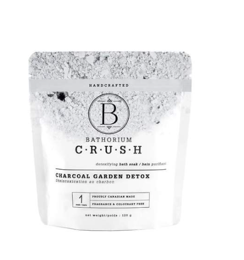 Bathorium Charcoal Garden  bath soak