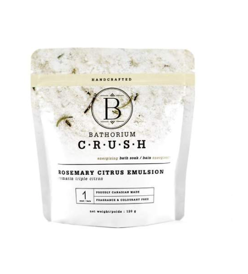 Bathorium Rosemary citrus emulsion bath soak