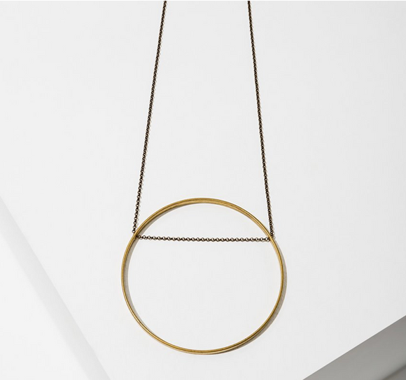 Larissa Loden Circle necklace