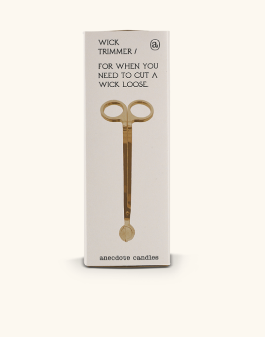 Brass wick trimmer