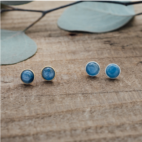 Glee Anytime kyanite studs