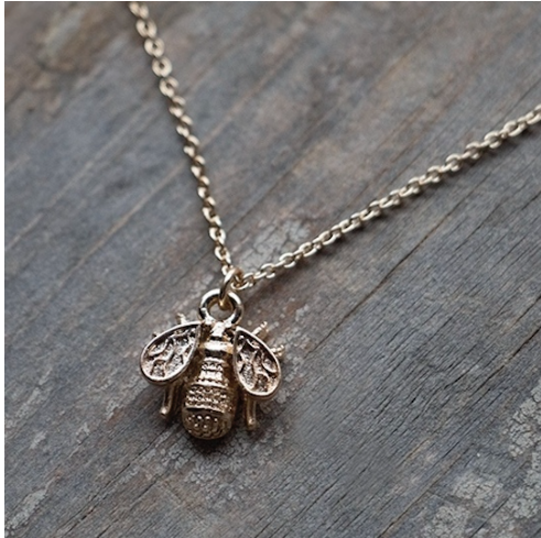 Glee Bee pendant gold
