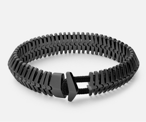 Miansai Men's Klink bracelet- rhodium
