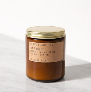 P.F. Candle  Black Fig candle
