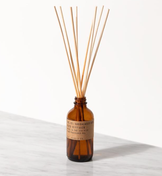 P.F. Candle diffuser Sandalwood Rose