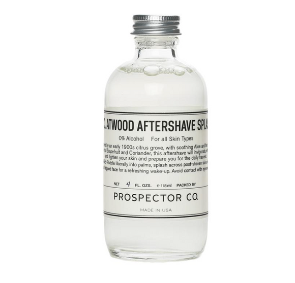 Prospector K.C. Atwood After Shave