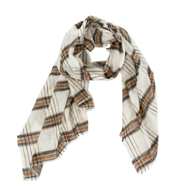 Foulard checkered Findlay
