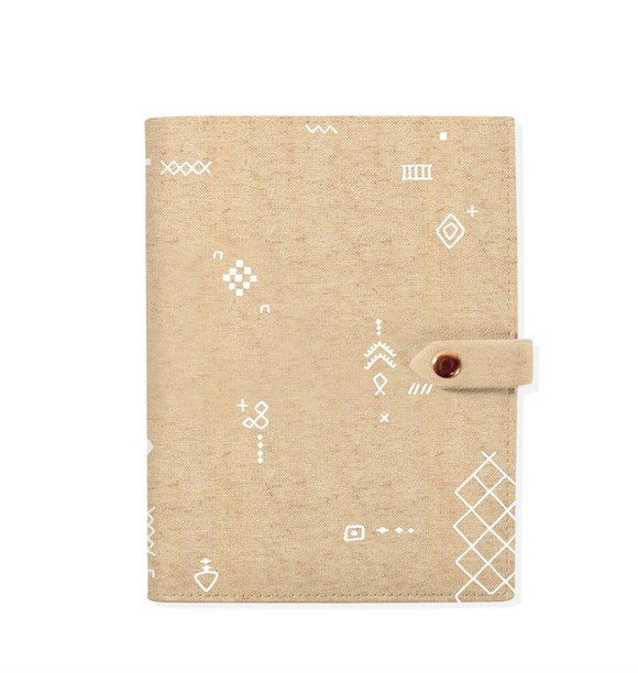Tribal marks Notebook Sleeve
