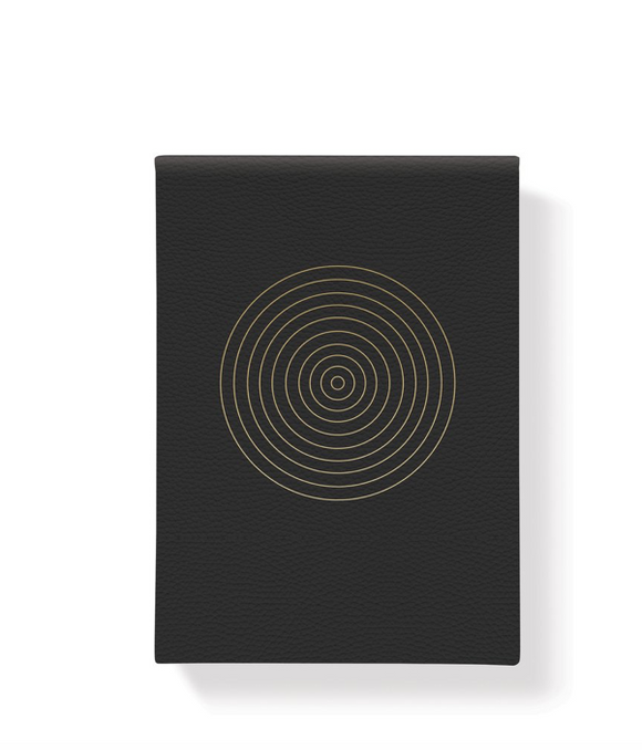 Black Bullseye Notepad
