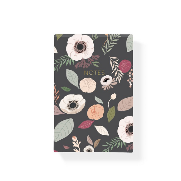 Charcoal Anemone Notepad