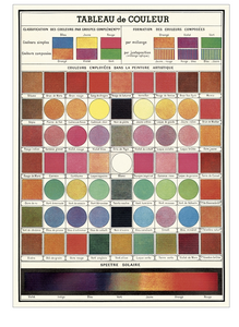 Cavallini Wrap Color Chart