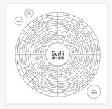"Archie's Press Print ""Sushi"""