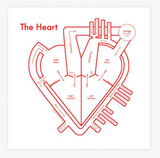 "Archie's Press Print ""The Heart"""