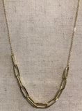 Marilyn Mayman Gold Chain Necklace