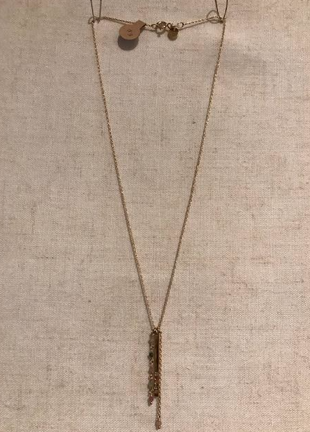Sophie Deschamps Tourmaline necklace