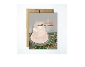 Card Wedding Cake
