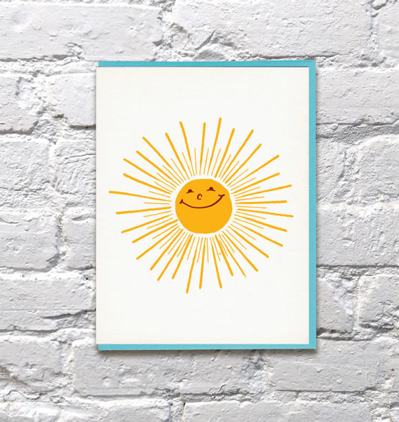 Card Sunshine