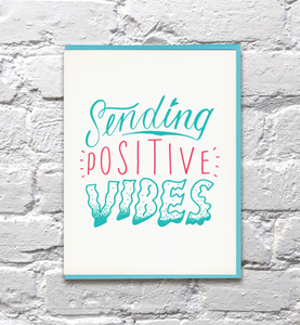 Card Positive Vibes