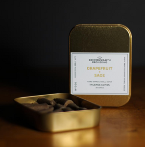 Commonwealth Provisions  Incense Grapefruit & Sage