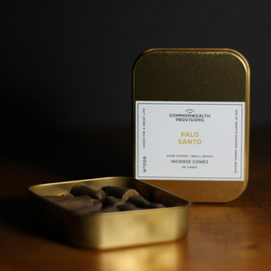 Commonwealth Provisions Incense Palo Santo