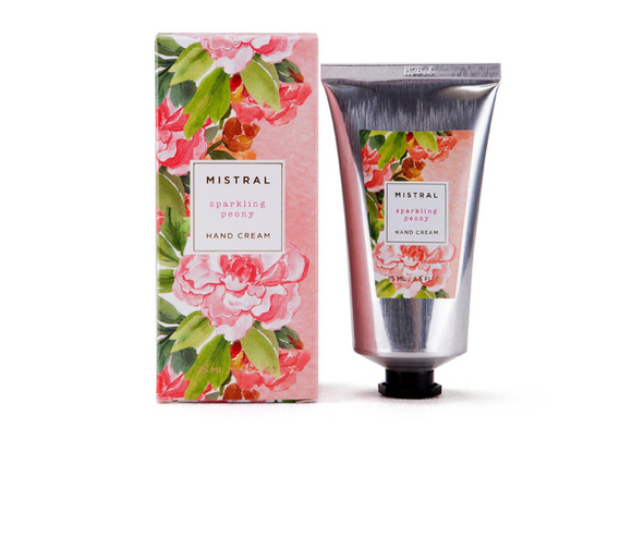Mistral Sparkling Peony Hand Cream