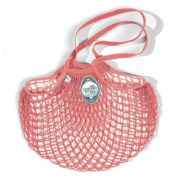 Filt Cotton Net Shopping bag Light Pink