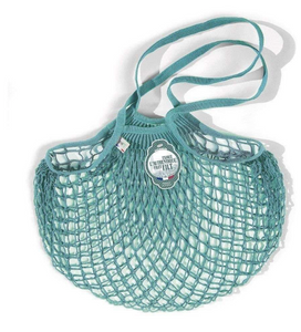 Filt Cotton Net Shopping Bag Aqua