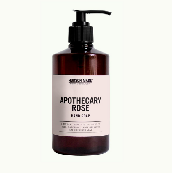 Hudson Made Apothecary Rose Liquid Hand Soap