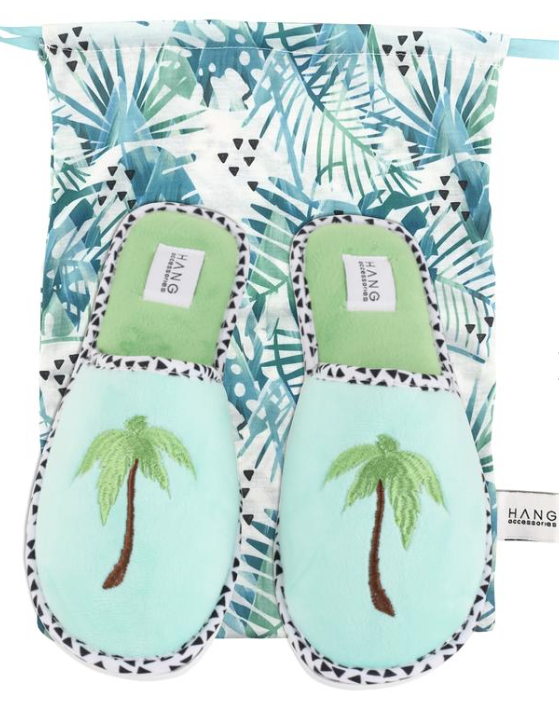 Hang Slippers Palm Tree