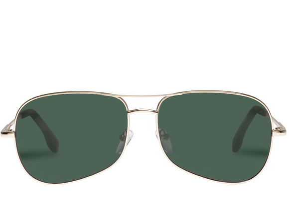 LeSpecs Krill Gold sunglasses