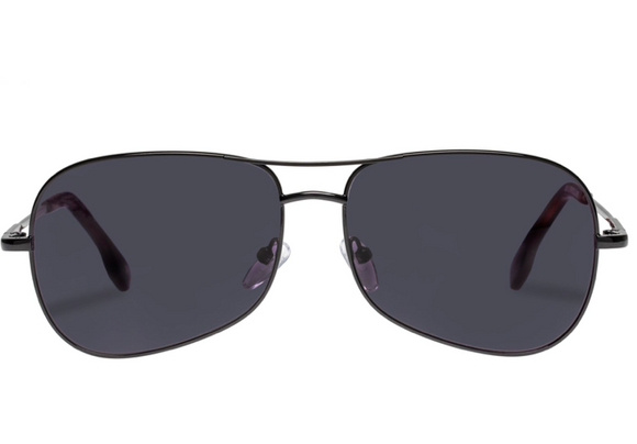 LeSpecs Krill Sunglasses Black