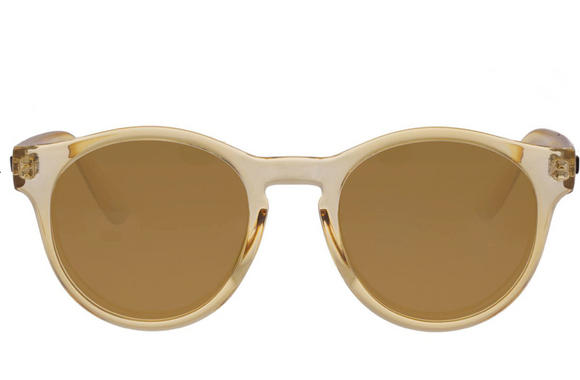 LeSpecs Hey Macarena Blonde Sunglasses