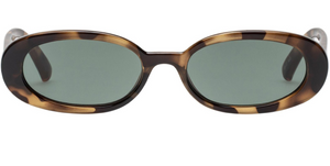 LeSpecs Outta Love Tort Sunglasses