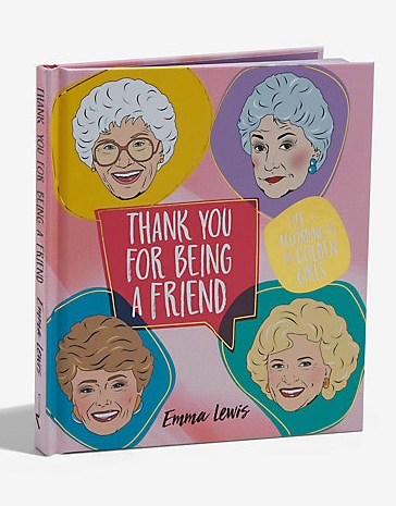 Book Thank you for Being a Friend