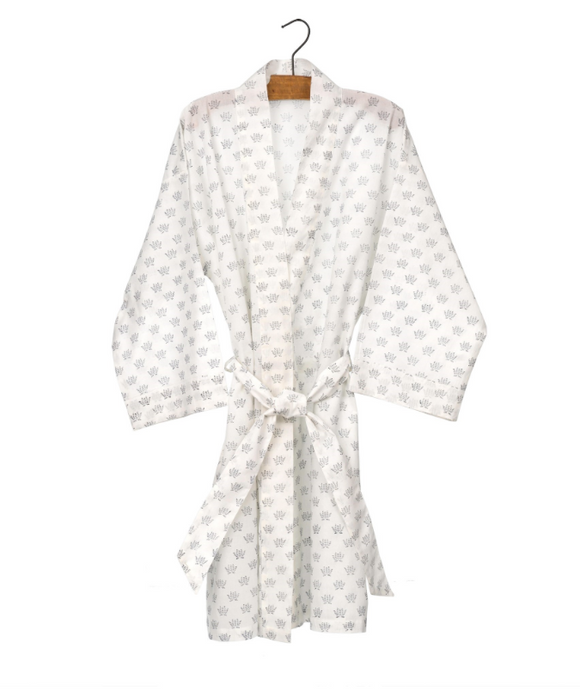 Blue Hills Cotton Robe