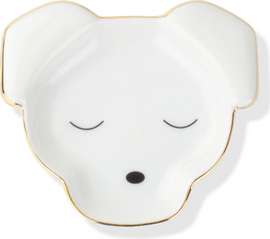 Ceramic Dog Face Holder