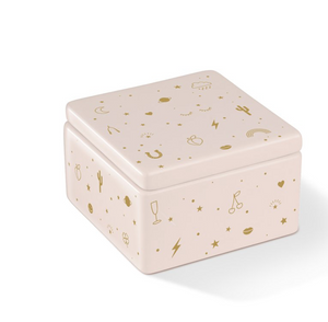 Pretty Things Ceramic box with lid