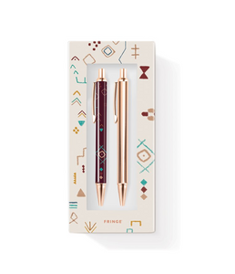 Tribal Mark Pen/Pencil Set