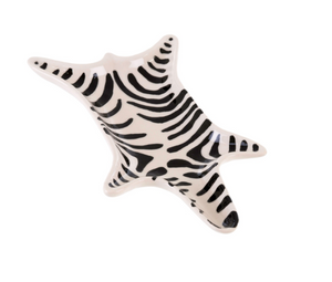 Ceramic Zebra catchall