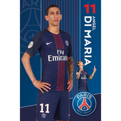Paris Saint Germain F.C. Poster Di Maria 51