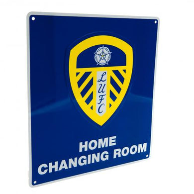 Leeds United F.C. Home Changing Room Sign